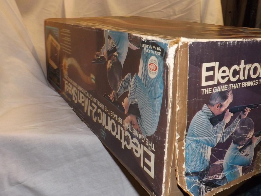 1978 IDEAL ELECTRONIC 2-MAN SKEET GAME - 5