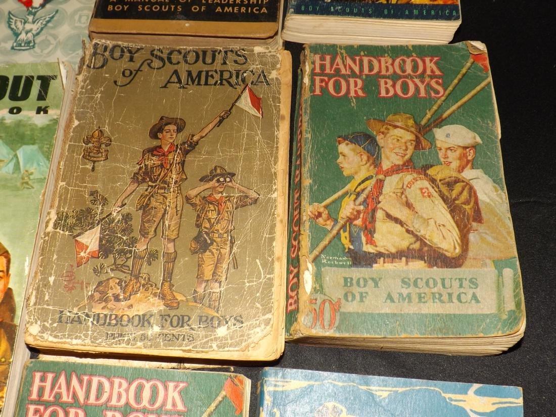 12 VINTAGE BOY SCOUT HANDBOOKS - 3