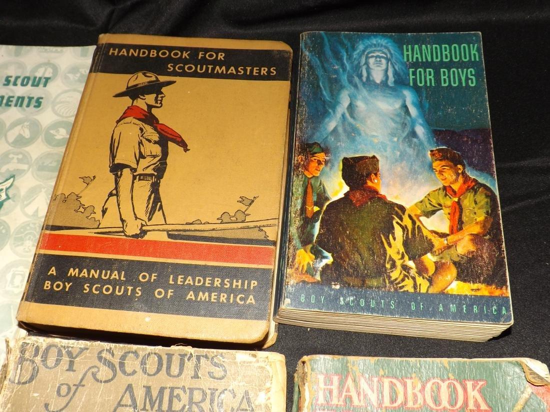 12 VINTAGE BOY SCOUT HANDBOOKS - 4