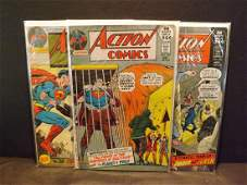 3 DC ACTION COMICS