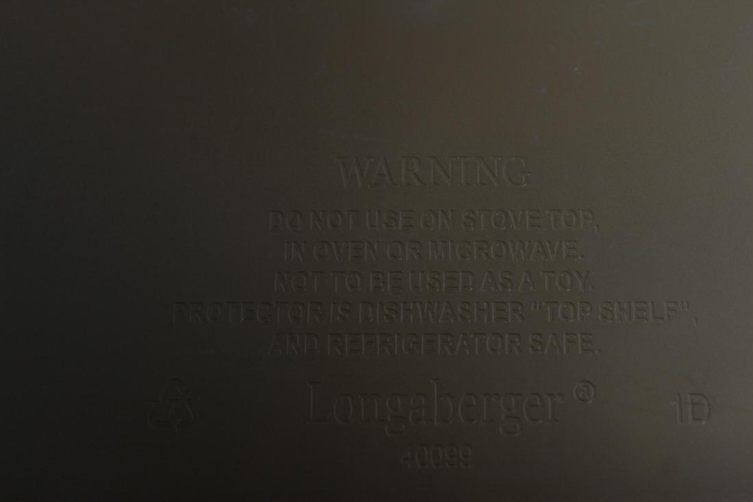 LONGABERGER BASKET & INSERT - 3