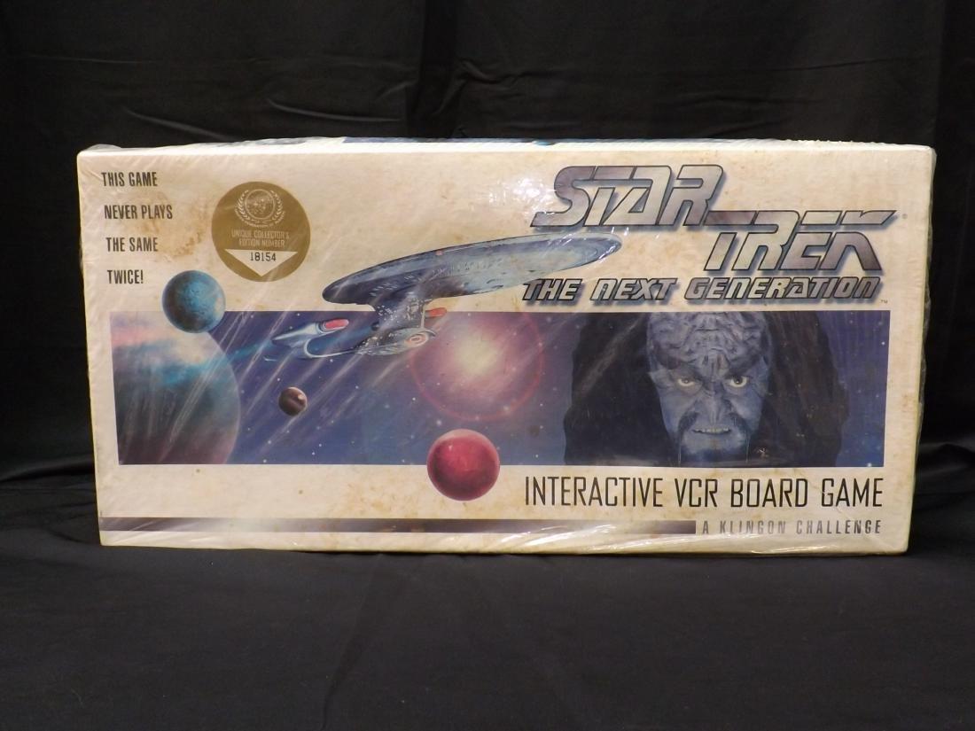 VINTAGE STAR TREK THE NEXT GENERATION INTERACTIVE VCR