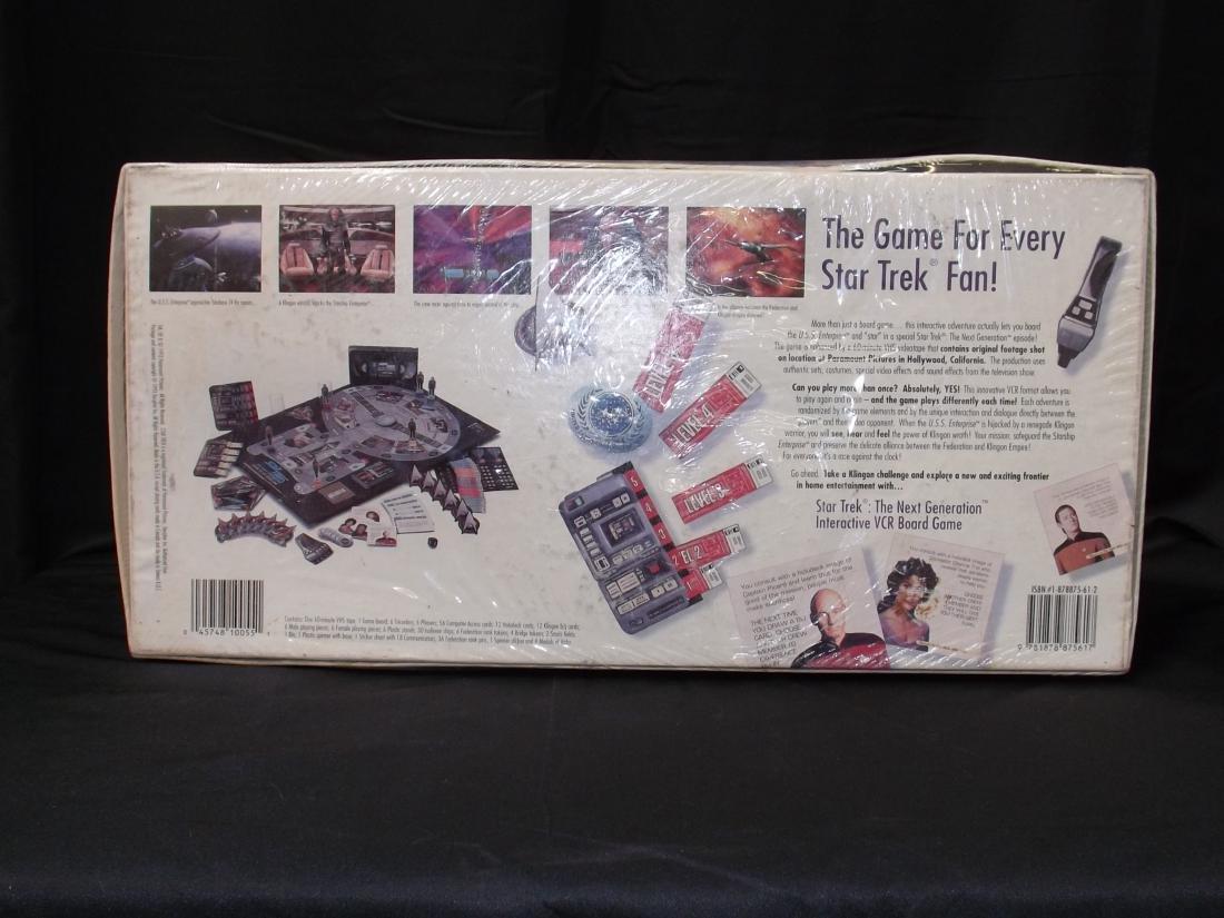 VINTAGE STAR TREK THE NEXT GENERATION INTERACTIVE VCR - 2