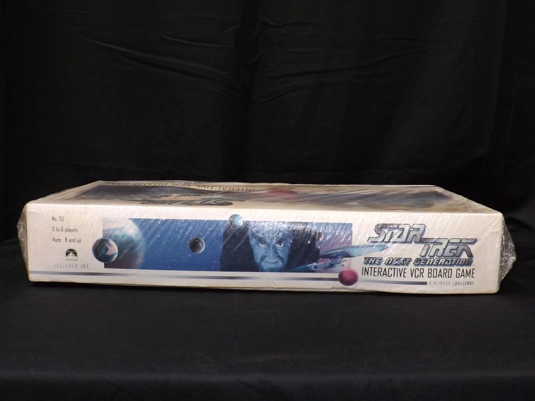 VINTAGE STAR TREK THE NEXT GENERATION INTERACTIVE VCR - 3