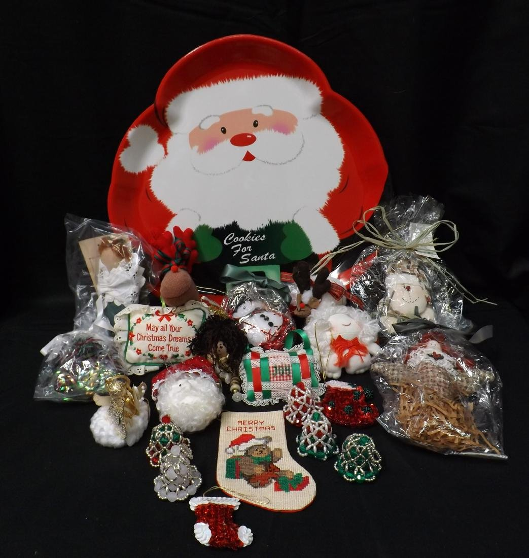 HAND CRAFTED CHRISTMAS ORNAMENTS