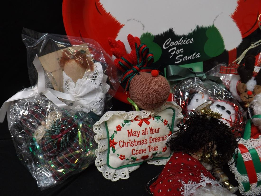 HAND CRAFTED CHRISTMAS ORNAMENTS - 3