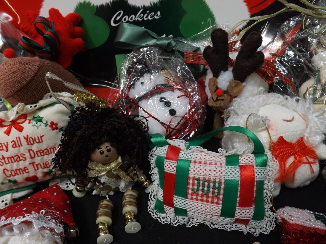 HAND CRAFTED CHRISTMAS ORNAMENTS - 4