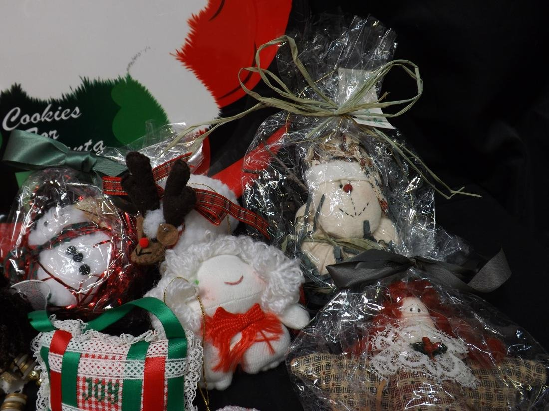 HAND CRAFTED CHRISTMAS ORNAMENTS - 5