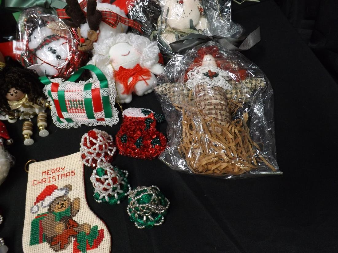 HAND CRAFTED CHRISTMAS ORNAMENTS - 6