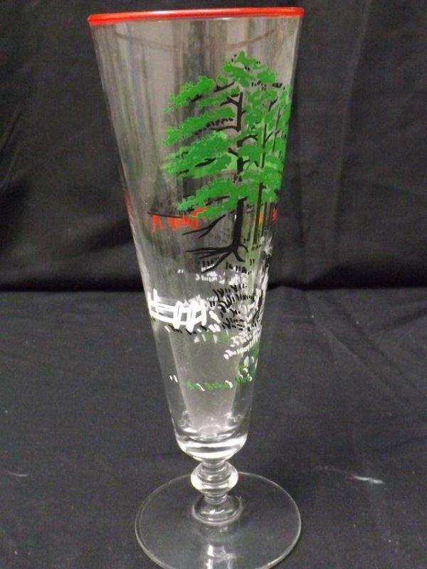 VINTAGE LIBBEY BEER GLASSES - 6
