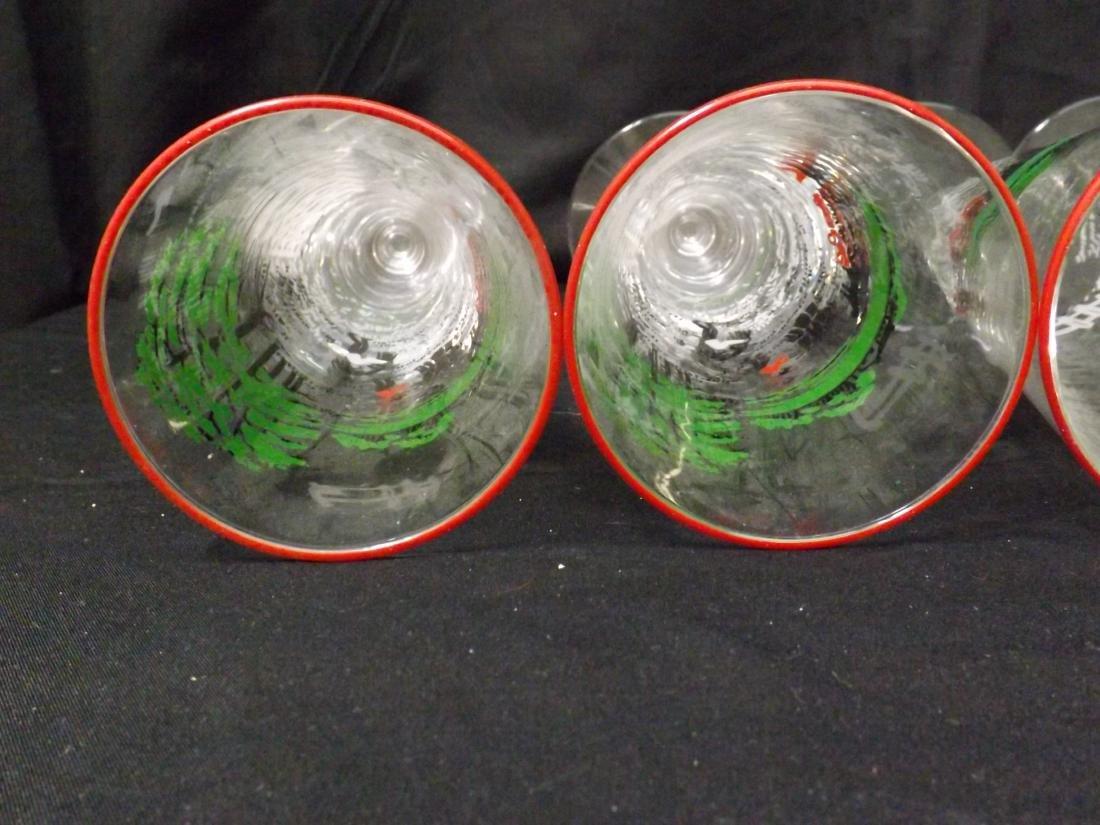 VINTAGE LIBBEY BEER GLASSES - 8