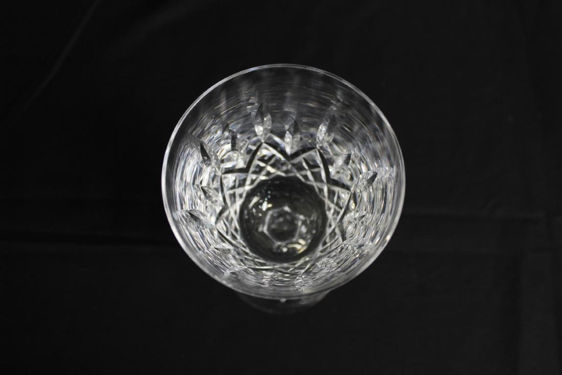 4 WATERFORD LISMORE WATER GOBLETS - 4