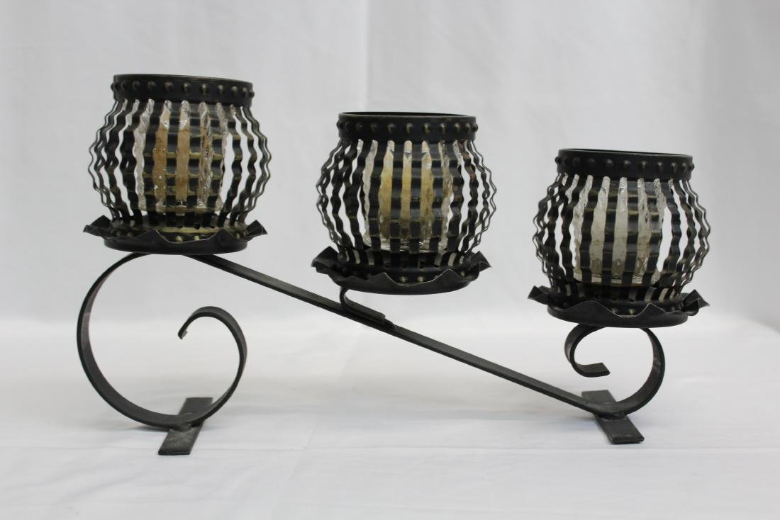 VERSATILE METAL CANDLE HOLDER