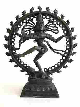 Large Bronze Hindu Shiva Statue
