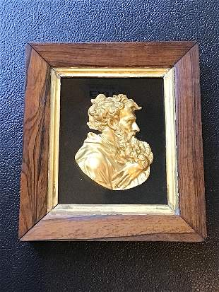 French Ormolu Bronze Relief Plaque After Jean Warin