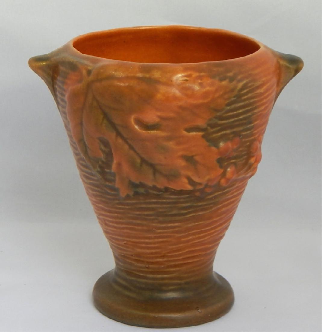Vintage Roseville Art Pottery Vase, Signed