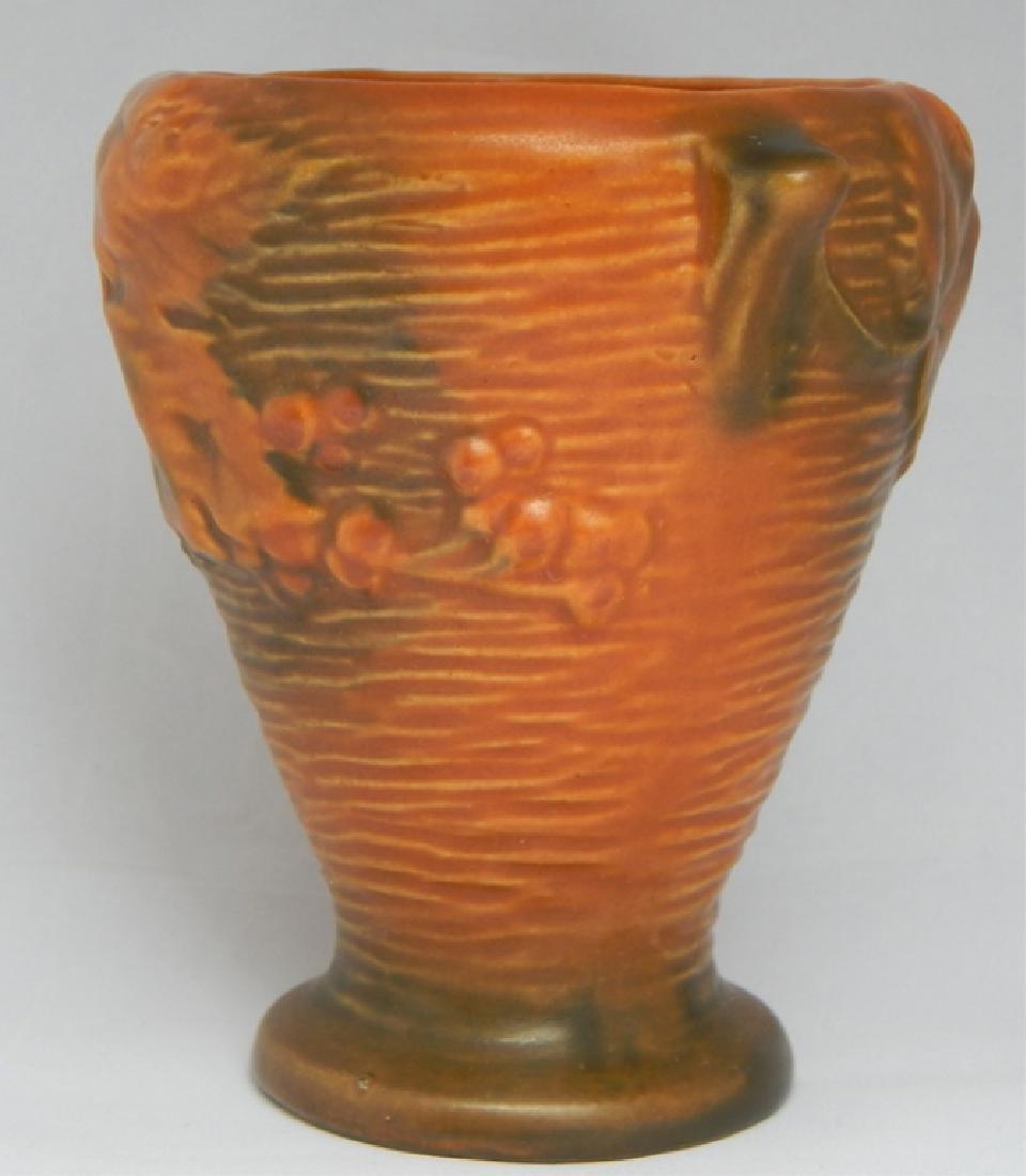 Vintage Roseville Art Pottery Vase, Signed - 2