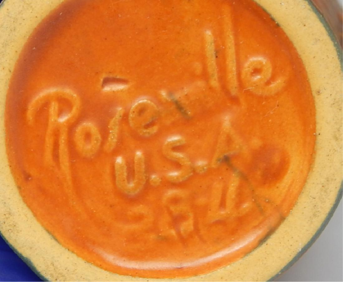 Vintage Roseville Art Pottery Vase, Signed - 4