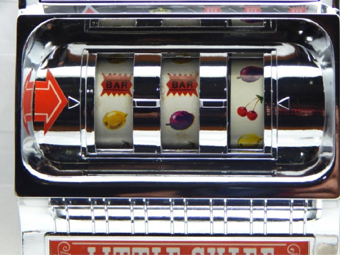 Vintage Little Chief Bank Slot Machine in Box - 6