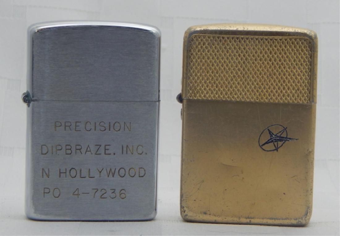 Vintage Wellington & Park Sherman Lighters