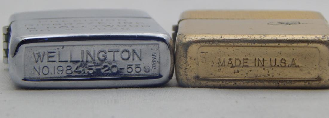 Vintage Wellington & Park Sherman Lighters - 4