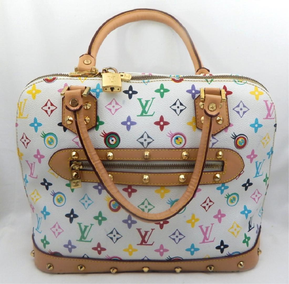 Louis Vuitton Multicolor Monogram Handbag