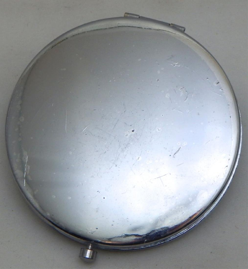 Jeweled Enamel Mirror Compact - 3