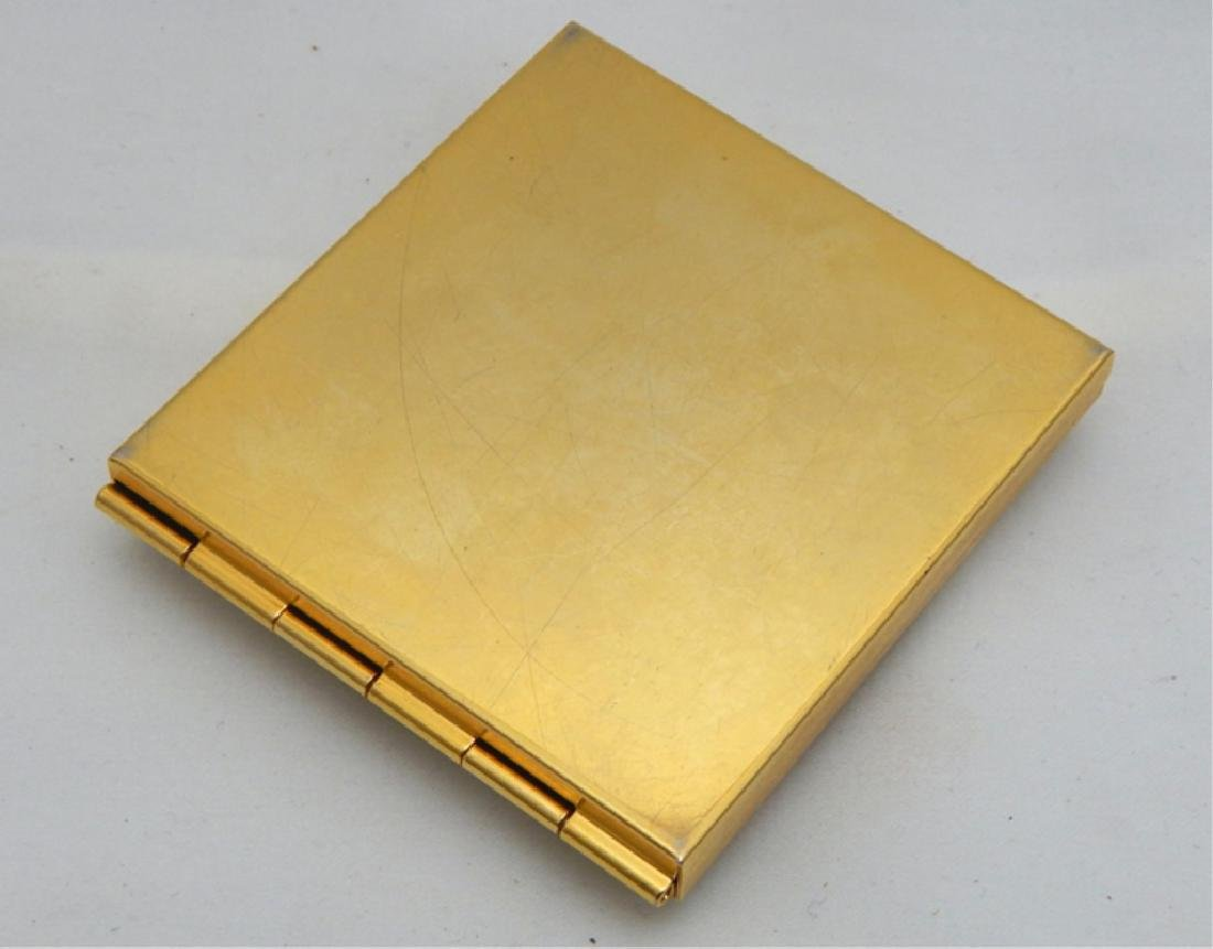 Jeweled Enamel Cameo Mirror Compact - 3