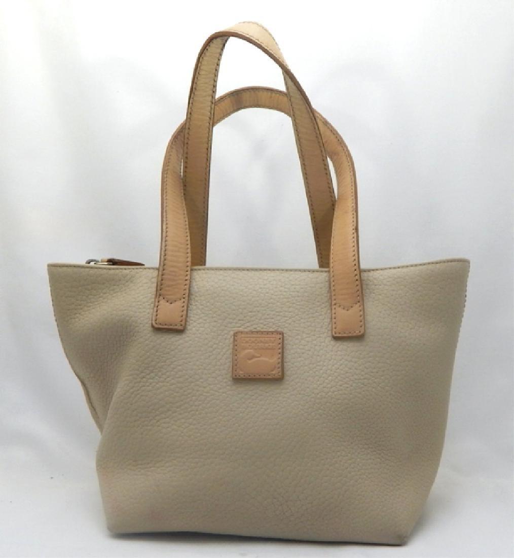 Dooney & Burke Tan Soft Leather Handbag