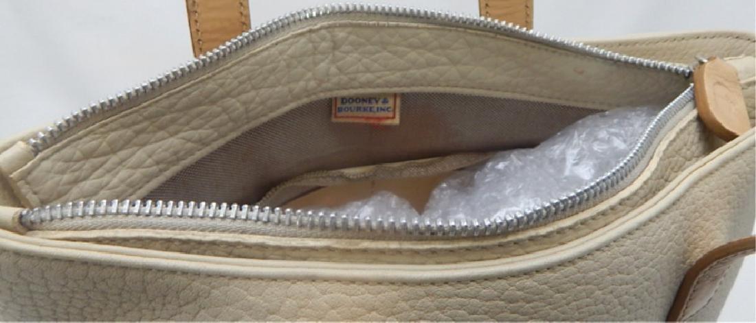 Dooney & Burke Tan Soft Leather Handbag - 3