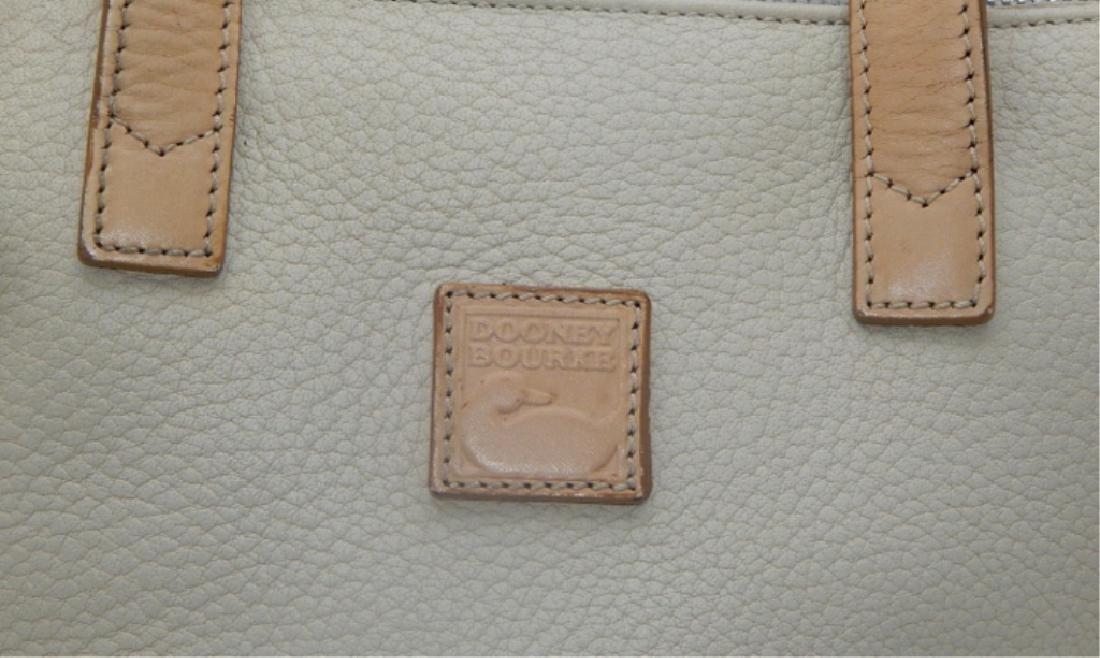 Dooney & Burke Tan Soft Leather Handbag - 4