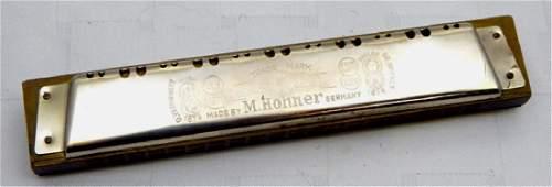 Vintage M. Hohner Preciosa Harmonica, c1880s