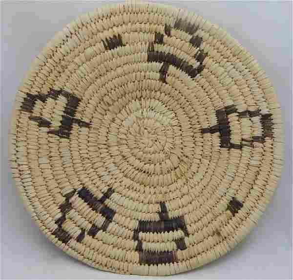 Vintage Papago Indians Hand Made Basket