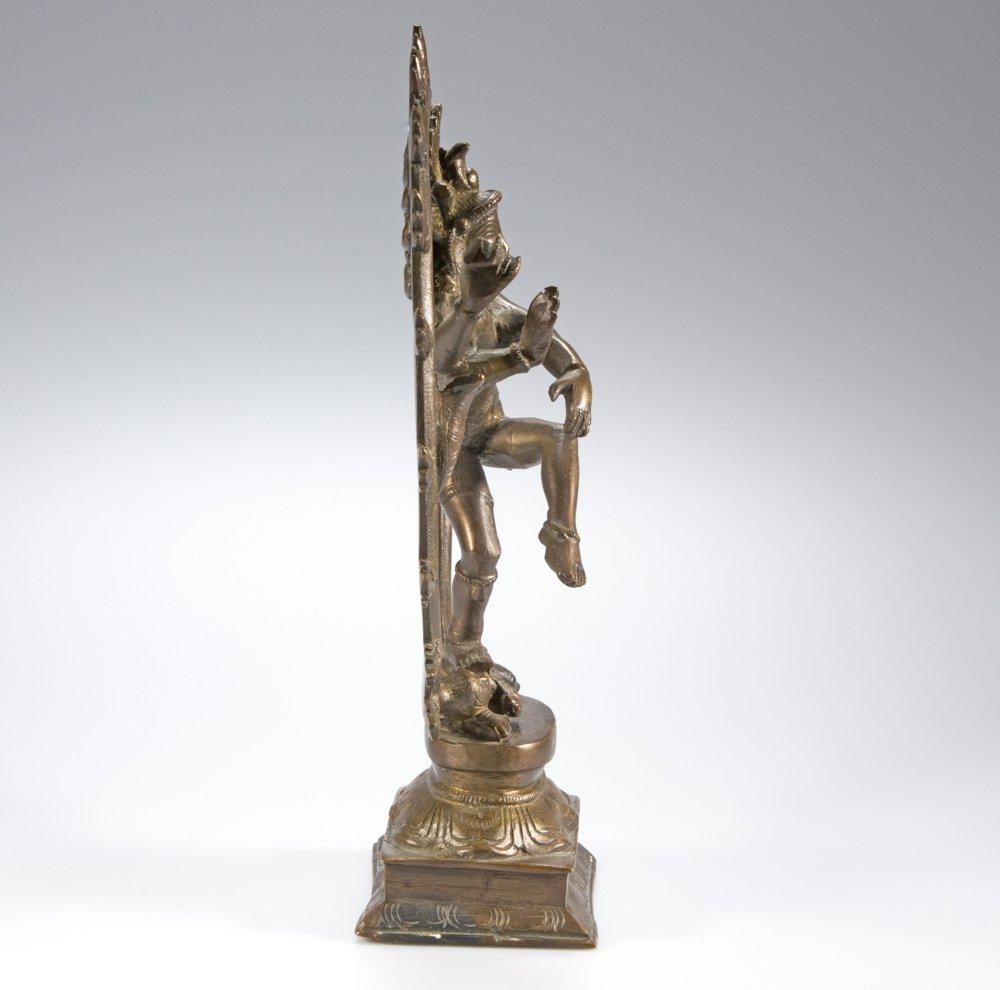 Shiva bronze figure Nataraja South India - 3
