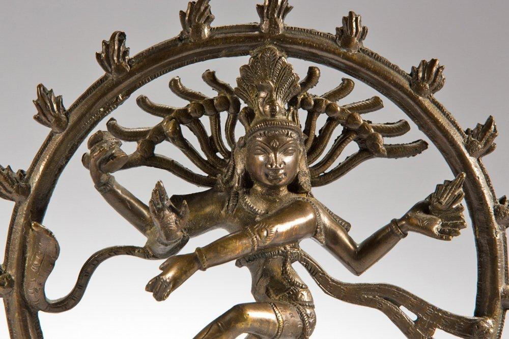 Shiva bronze figure Nataraja South India - 7