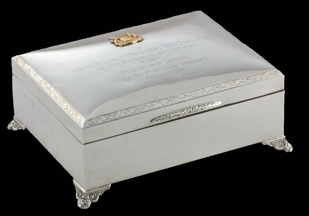 An important 1963 Presidential box Vietnam / Singapore