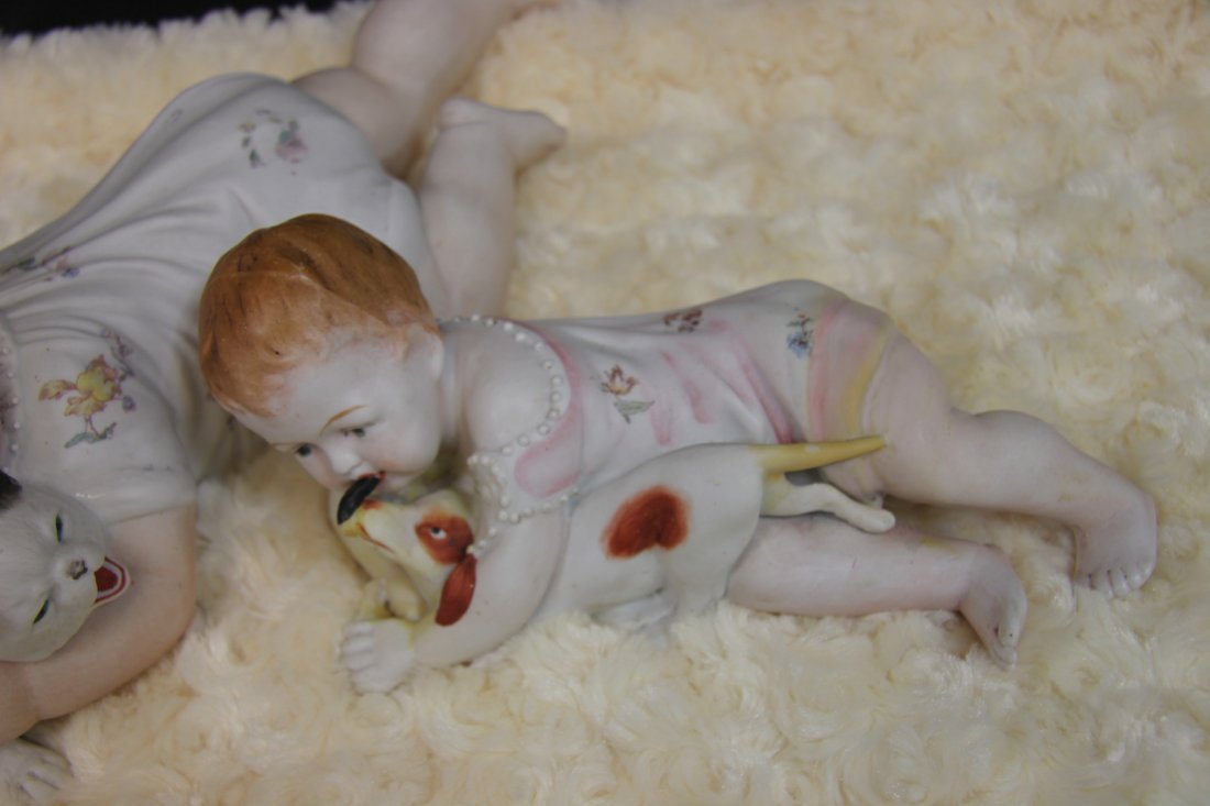 Unmarked German Piano Babies - Heubach ? - - 3