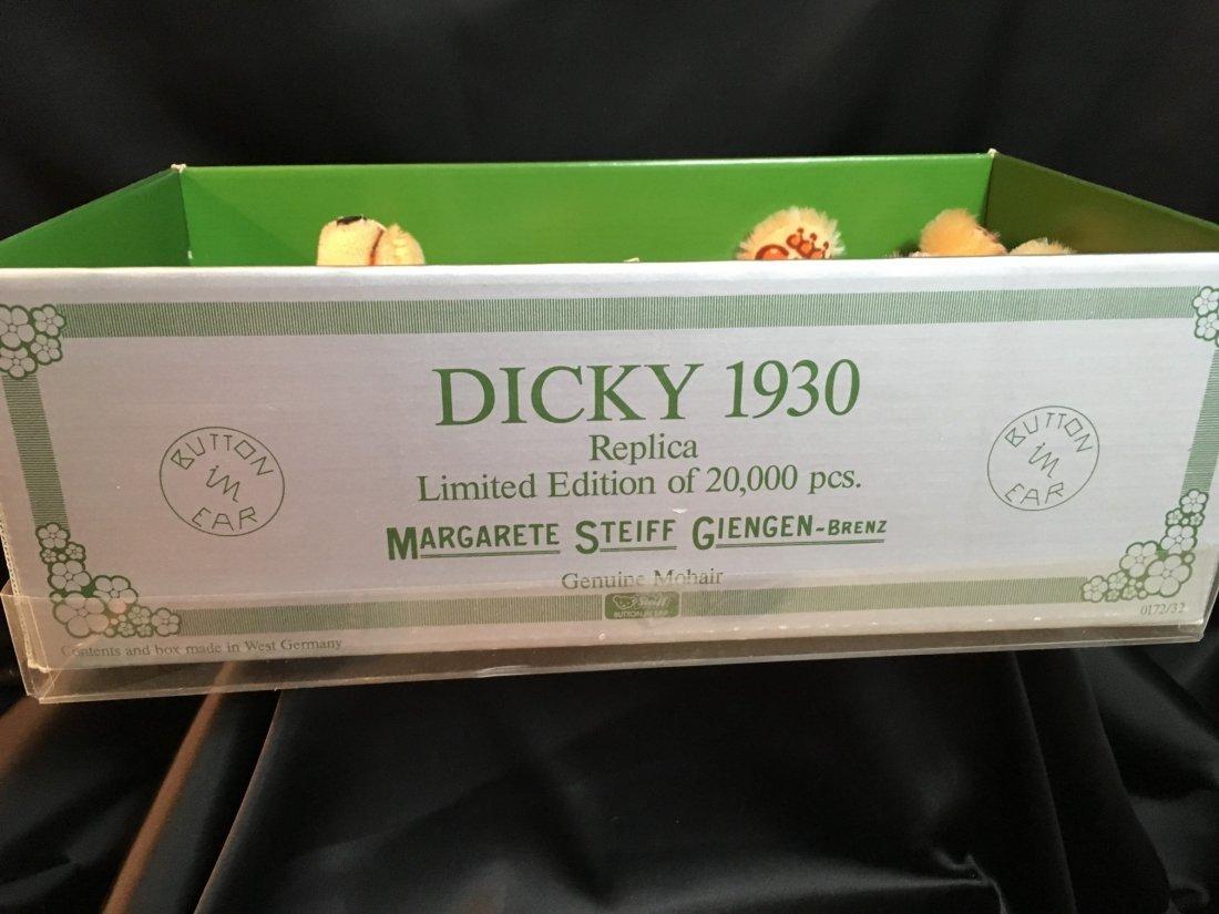 """13"""" Dicky Bear by Margarete Steiff ~ 1985 ~ - 3"""