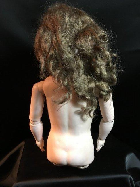Antique Bisque Head AM Doll - 5