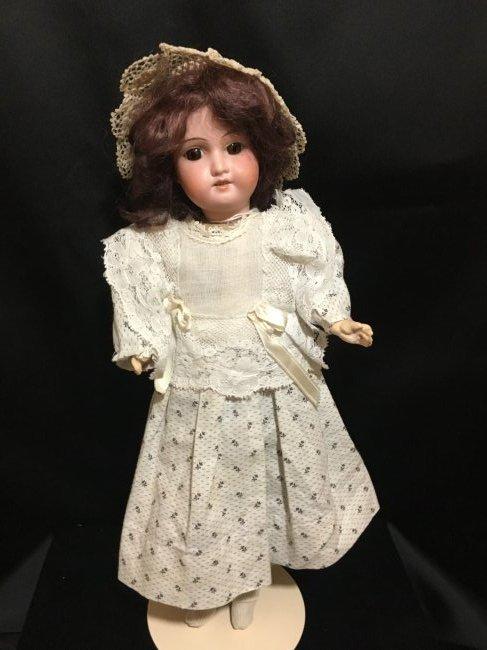 """14"""" Original Antique Bisque Head Doll ~ 1910-1915 ~"""