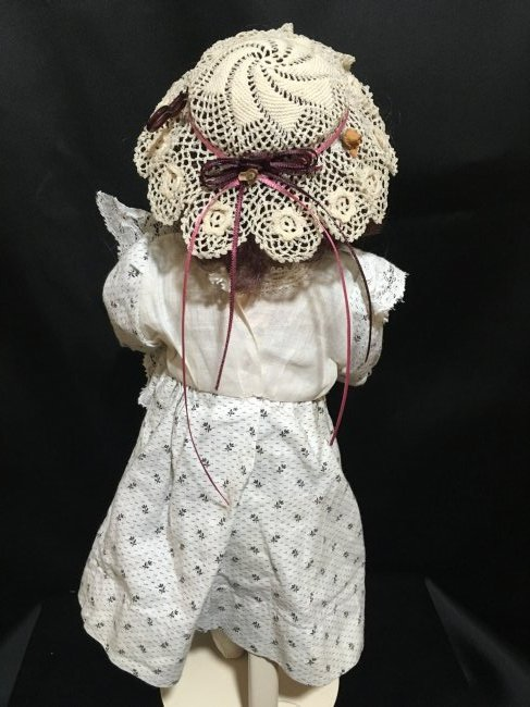 """14"""" Original Antique Bisque Head Doll ~ 1910-1915 ~ - 3"""