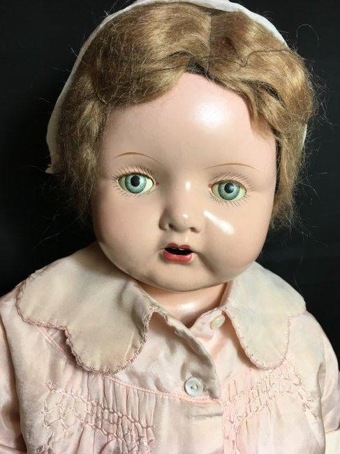 """29"""" Mama Doll circa 1920 ~ Horseman ? Effanbee? - 2"""