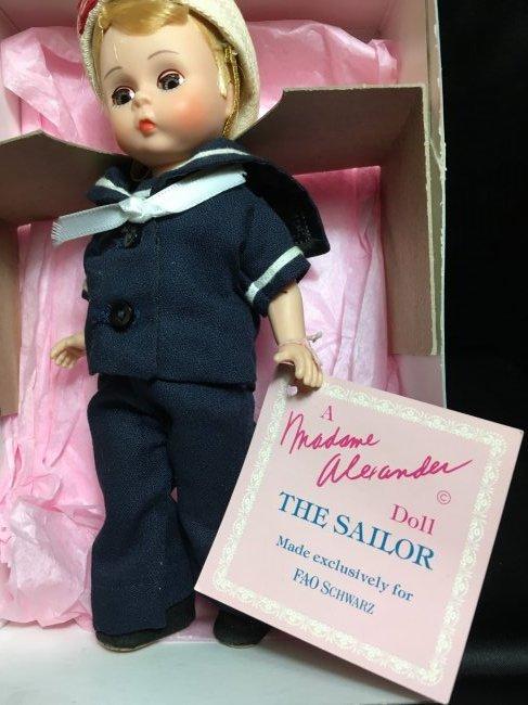 Vintage Mme. Alexander Doll ~ The Sailor ~ - 3