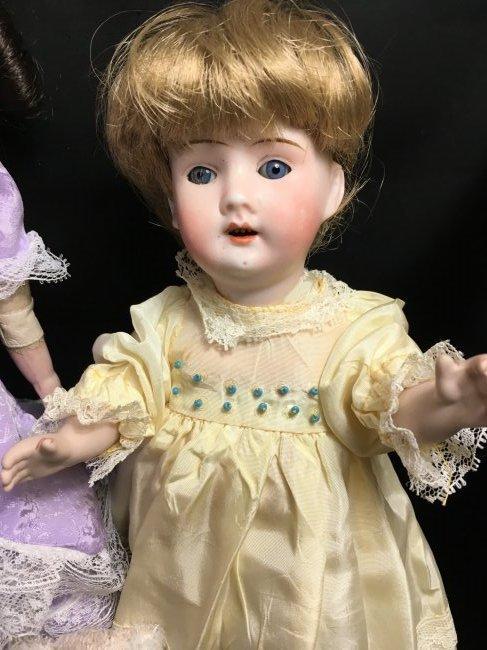 Lot of 2 German Antique/Vintage Dolls - 2