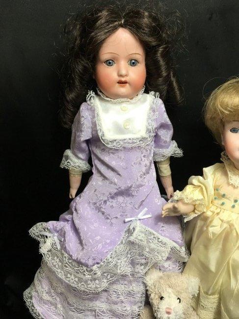 Lot of 2 German Antique/Vintage Dolls - 3
