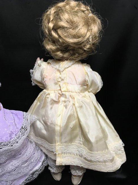 Lot of 2 German Antique/Vintage Dolls - 5