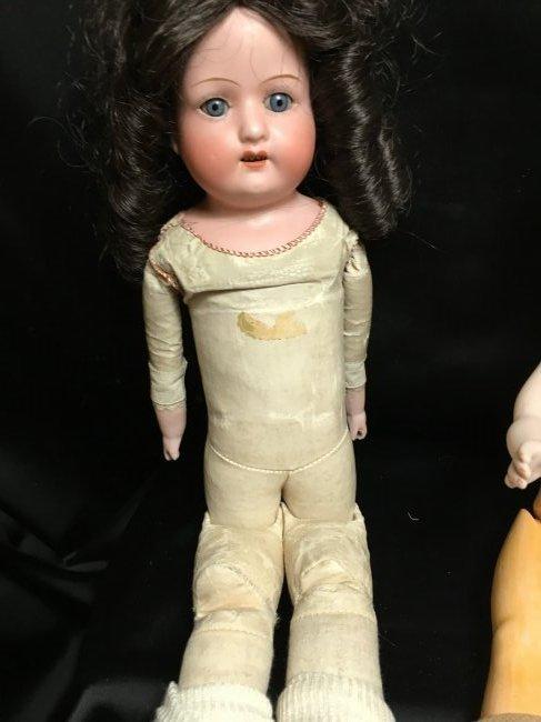 Lot of 2 German Antique/Vintage Dolls - 7