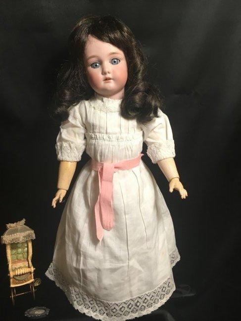 Antique Bisque Head Doll ~ Cuno & Otto Dressel ~