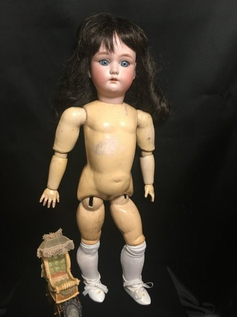 Antique Bisque Head Doll ~ Cuno & Otto Dressel ~ - 4
