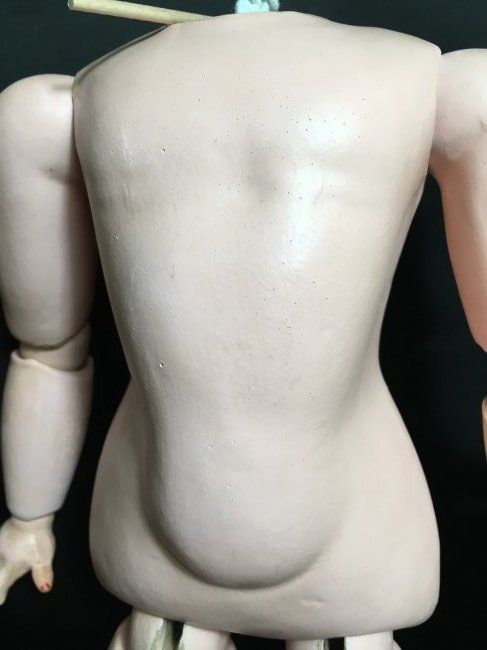 Antique Composition Doll Body - 3